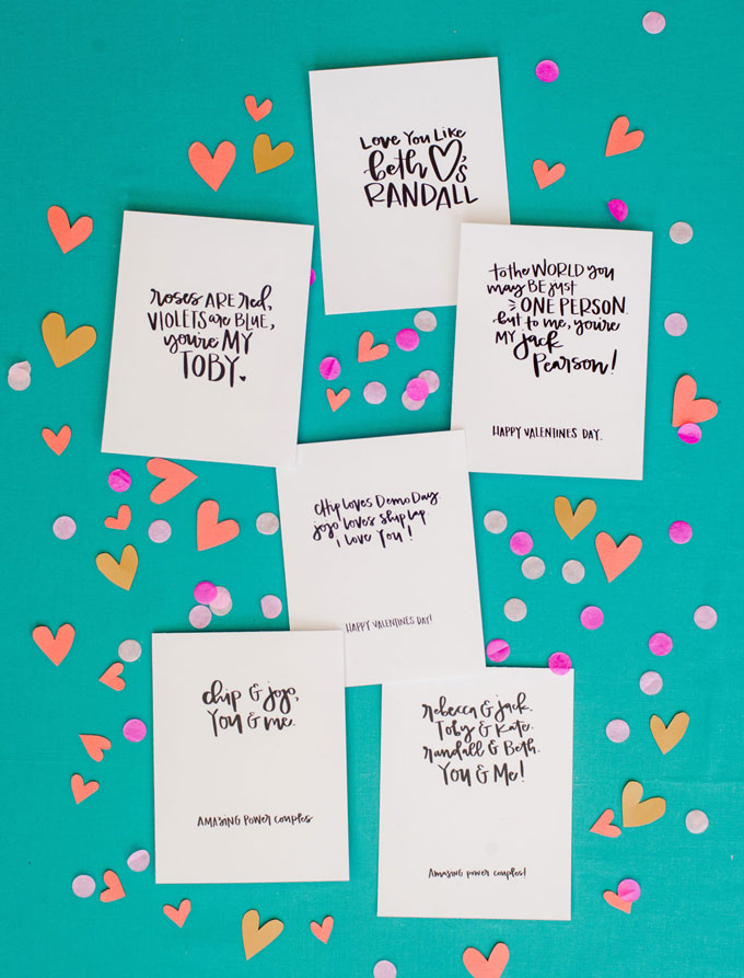 Fixer Upper + This is Us free VALENTINES printables! – oh yay studio ...