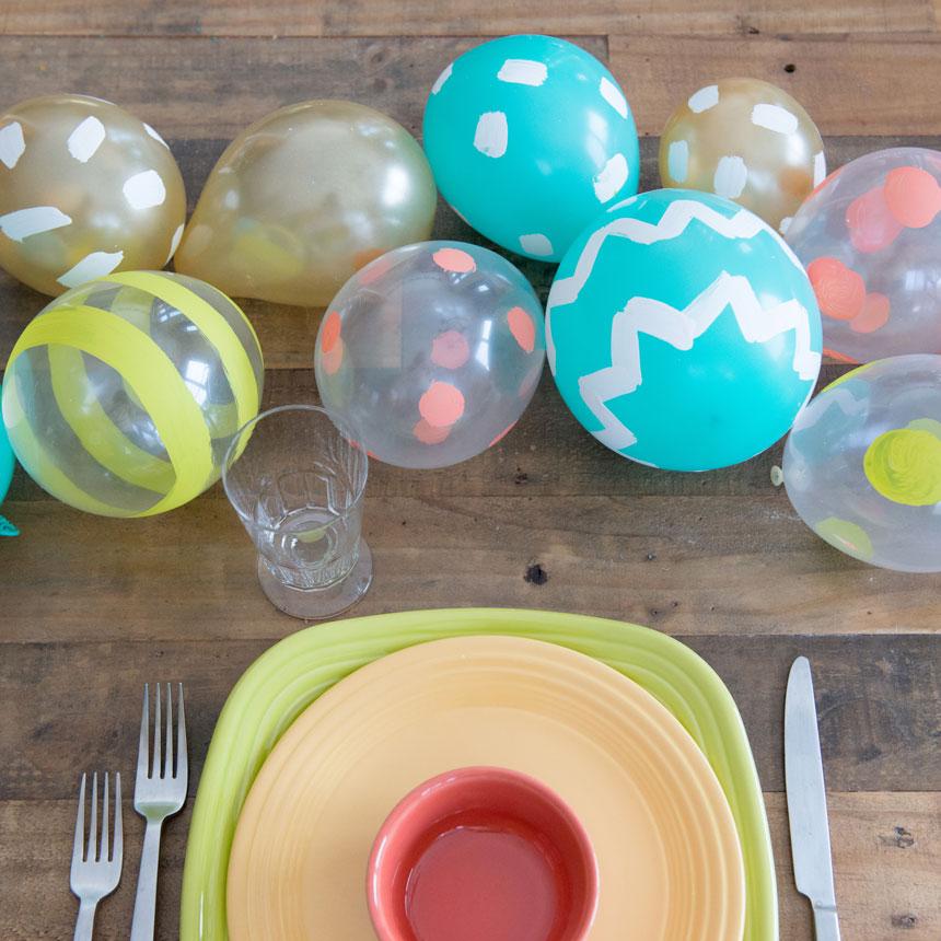 Easter egg decor, Easter decor, Easter egg balloons, egg balloon decor, Easter decor for kids
