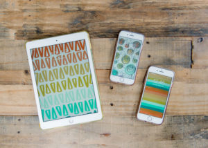 Free iPhone background, free tablet background, colorful phone background, striped phone background, floral phone background