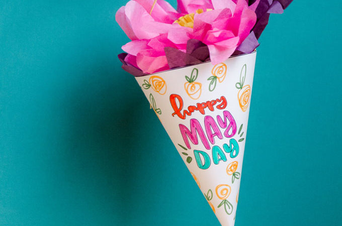 May day basket template, May day template, May day basket printable, DIY May day basket, May day ideas, May day projects for kids