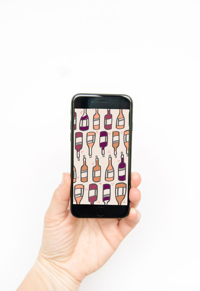 wine iPhone wallpaper, wine background, wine doodle, wine bottle doodle, national wine day background, national wine day quote, wine day doodle, national wine day image