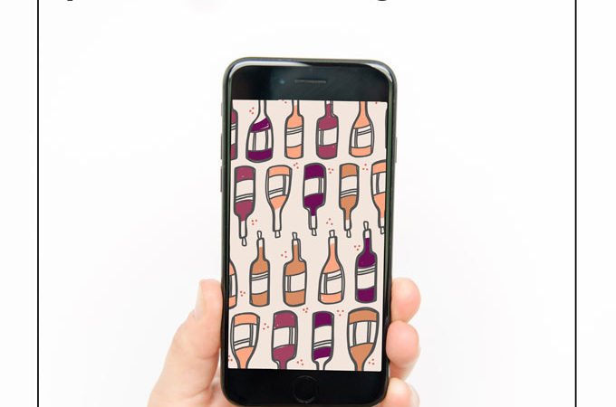 wine iPhone wallpaper, wine background, wine doodle, wine bottle doodle, national wine day background, national wine day quote, wine day doodle, national wine day image