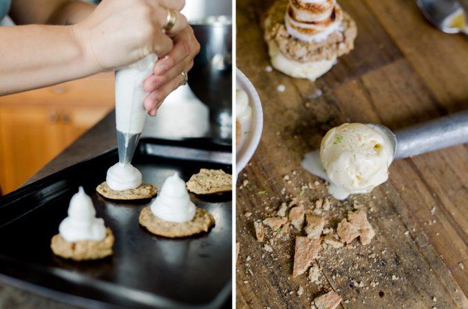 lemon meringue pie ice cream, lemon meringue ice cream sandwich, lemon ice cream, lemon ice cream recipe, lemon ice cream sandwich, homemade ice cream sandwich, homemade ice cream, how to make ice cream