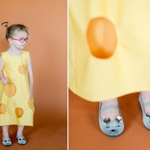 DIY Halloween costume, cheese grader halloween costume, cheese halloween costume, easy kids halloween costumes, easy kids DIY halloween, cheese halloween costume, DIY halloween, how to sew DIY