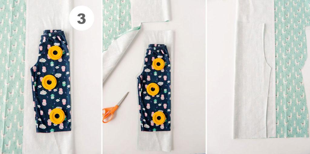 how to make pajama pants, DIY pajama pant pattern, how to make kids pj pants, how to make pajama bottoms, kids christmas gift, PJ pants pattern, kids PJ pants pattern