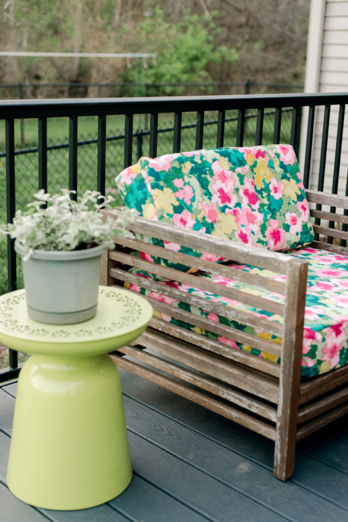 How To Re Cover Outdoor Cushions A Quick Easy Diy