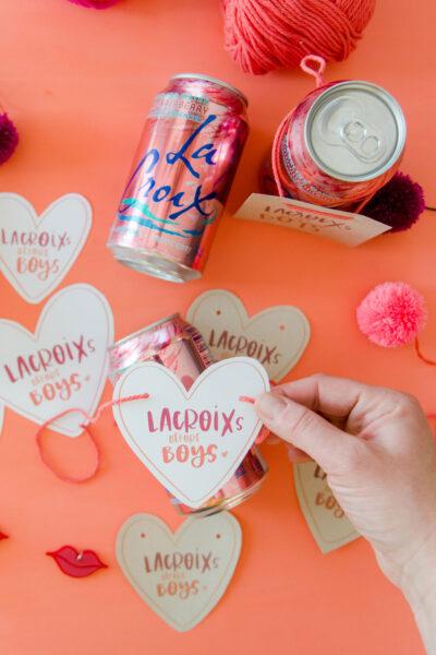 LaCroix before Boys printable, Free Valentine printable, free valentines day paper printable, Galentines day printable, VGalentines day party ideas