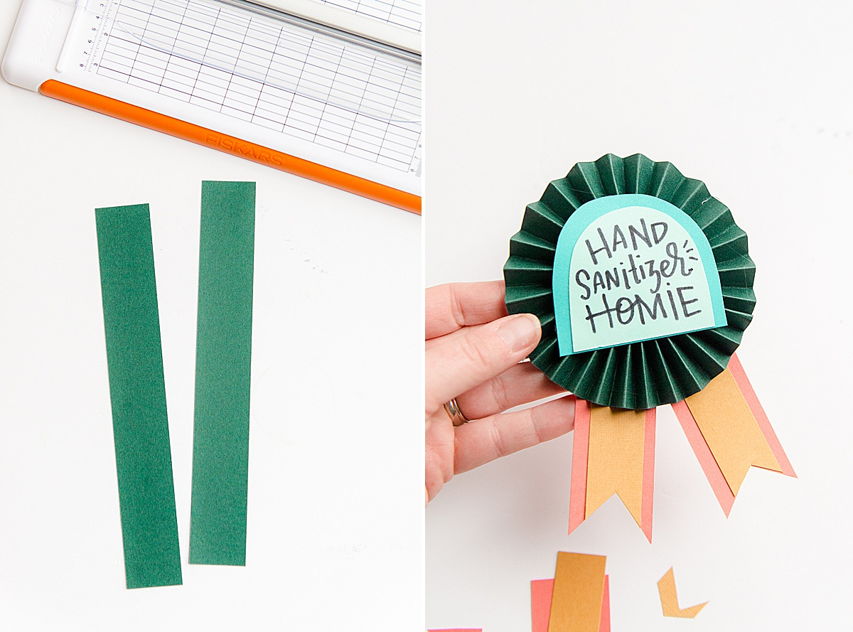 how to make a paper craft award