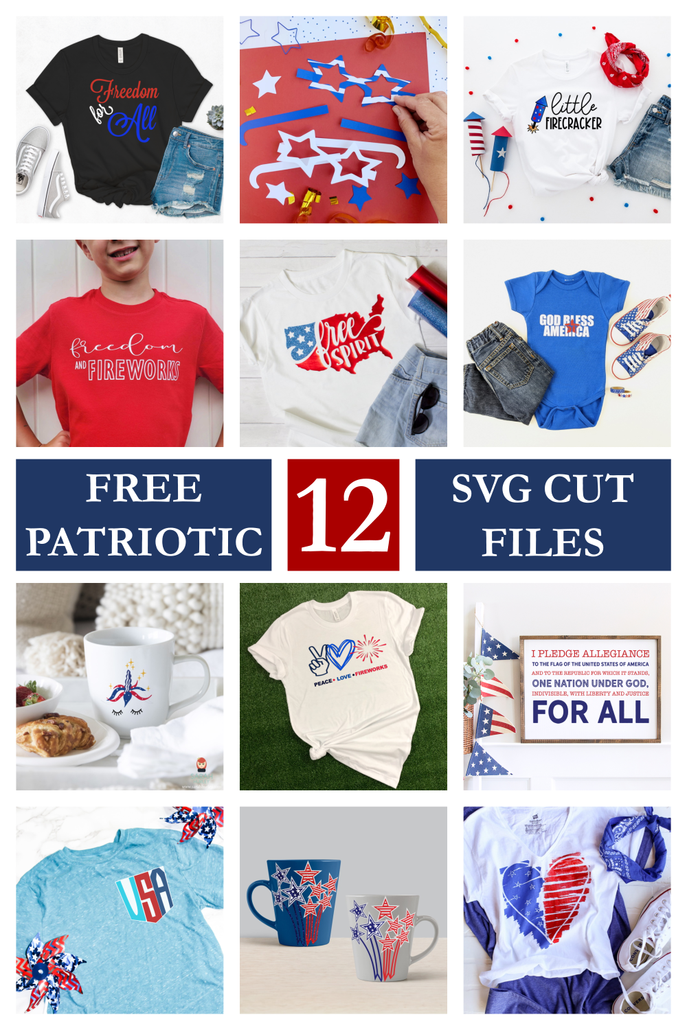 Patriotic cut files, free SVG files for the 4th of July, 4th of july cut files FREE, stars and stripes glasses, star glasses 4th of july