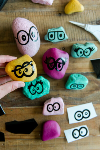 Free summer SVG files, rocks people cricut files, summer fun for kids, free summer SVG files for kids, summer activity for kids, rocks paint, pet rock file, pet rocks