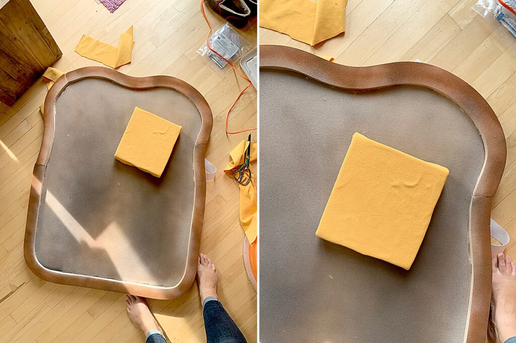 bread and butter costume, DIY halloween costume, bread butter costume, brunch costume idea, halloween costumes, homemade halloween costume