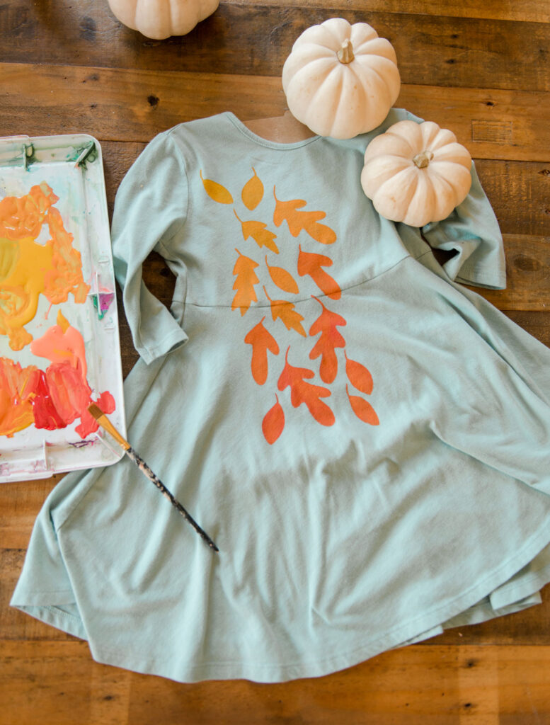 SVG cut file, free cut file, cricut cut file, fall leaf file for upcycling clothing