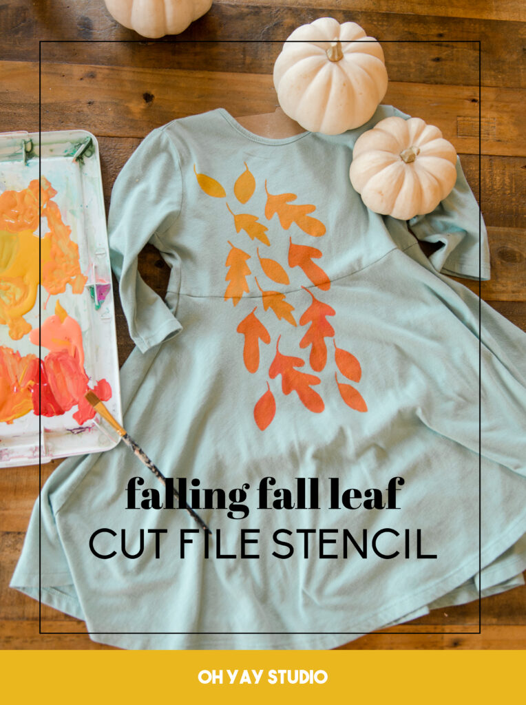 how to use a cricut to make a stencil to epicycle clothing