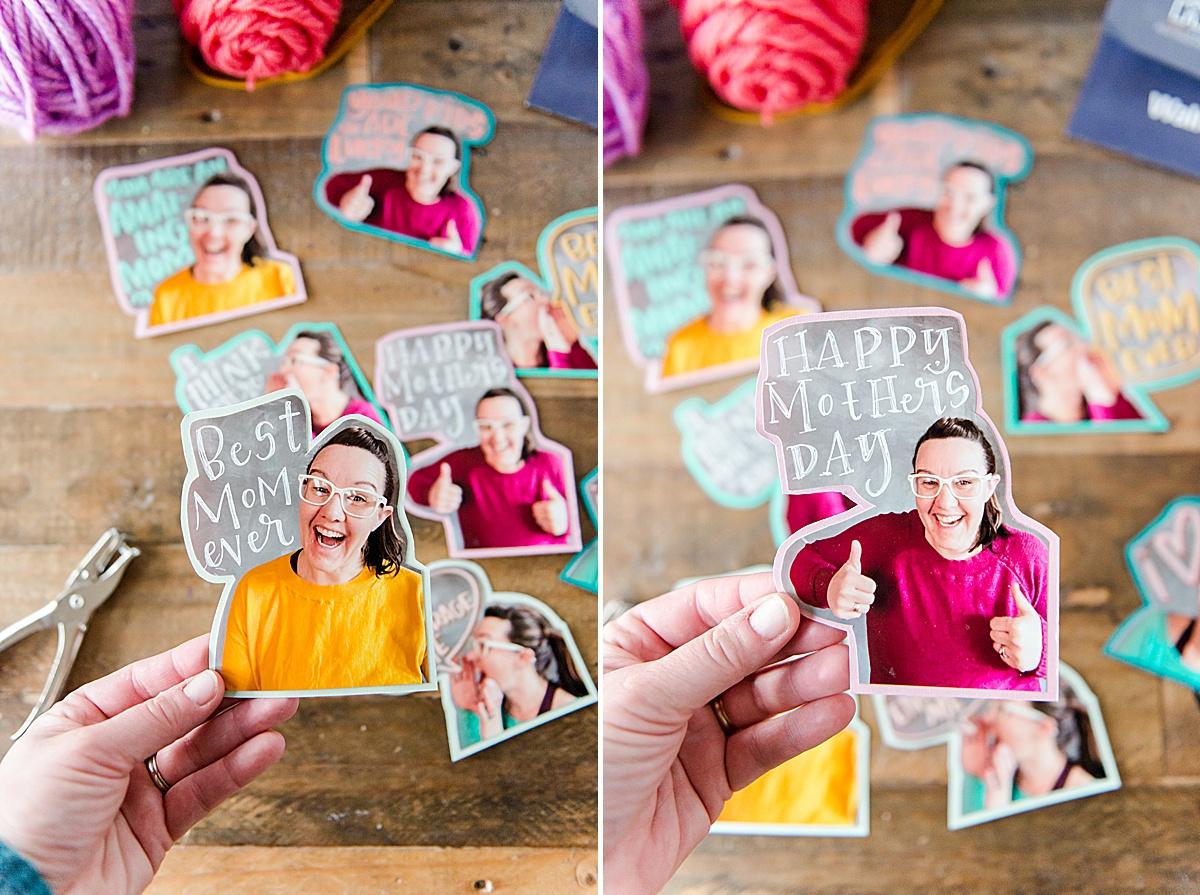 Mother's day DIY, Mother's Day photo DIY, Mother's Day Photo for kids, photo DIY for Moms