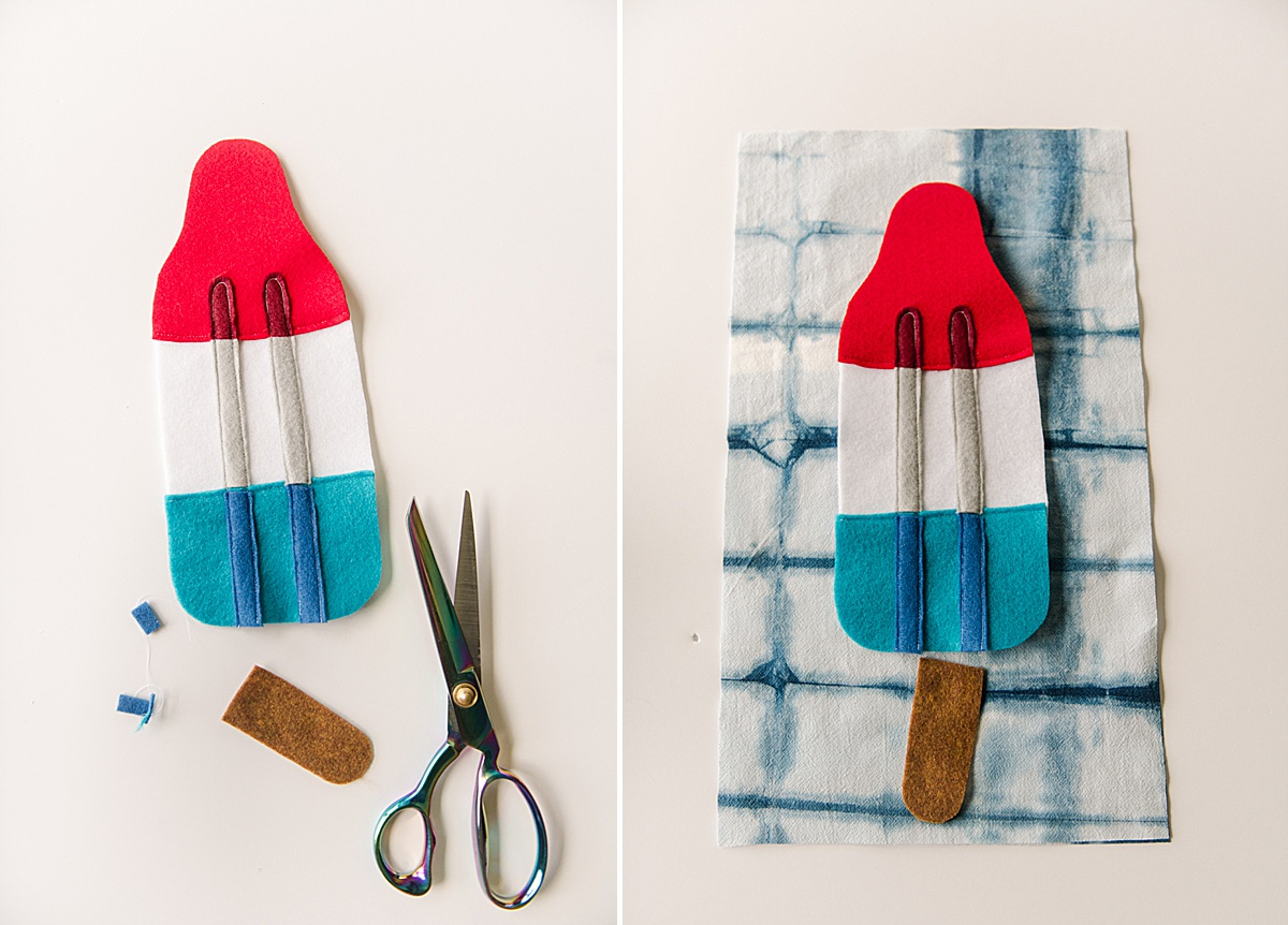 Bomb pop sewing project, 4th of july sewing project, zipper pouch sewing, how to sew a zipper pouch
