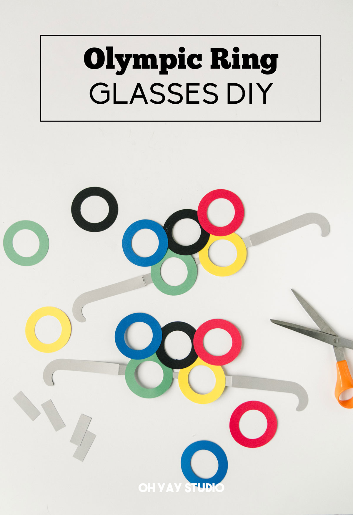 Olympic ring glasses, Olympic SVG files, free Olympic SVG file, Olympic party ideas, Olympic opening ceremony party idea, Olympic party, Olympic DIY, DIY olympic ideas