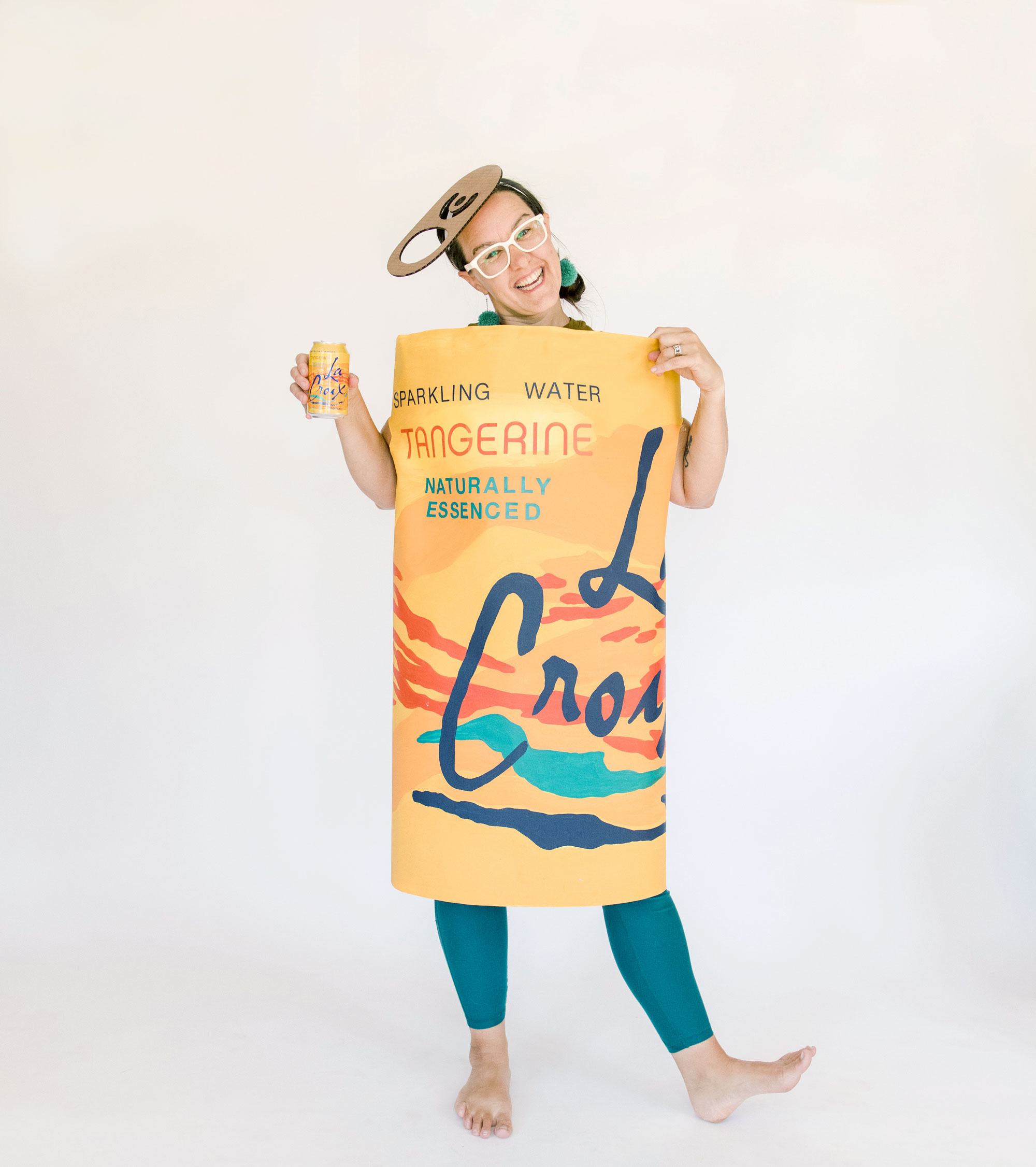 LaCroix costume DIY, LaCroix can costume, How to make a LaCroix costume, halloween costume ideas, How to make a LaCroix costume for Halloween